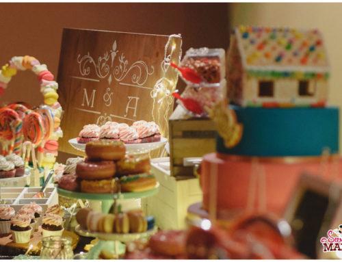 Una boda de cuento: La Mesa Dulce de Hansel y Gretel para M&A.