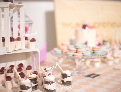 Mesa Dulce para el evento Mompreneur* y Happy Milk.