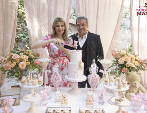 La baby shower de Mia, para María Lapiedra y Gustavo González.